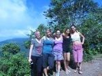 L to R: Me, Emmi (Finland), Melissa (Costa Rica), Liz (Southern California), Cat (Toronto).