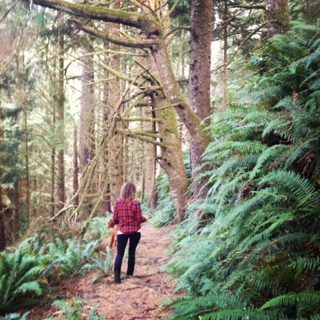 A warm late-fall hike near Cannon Beach.