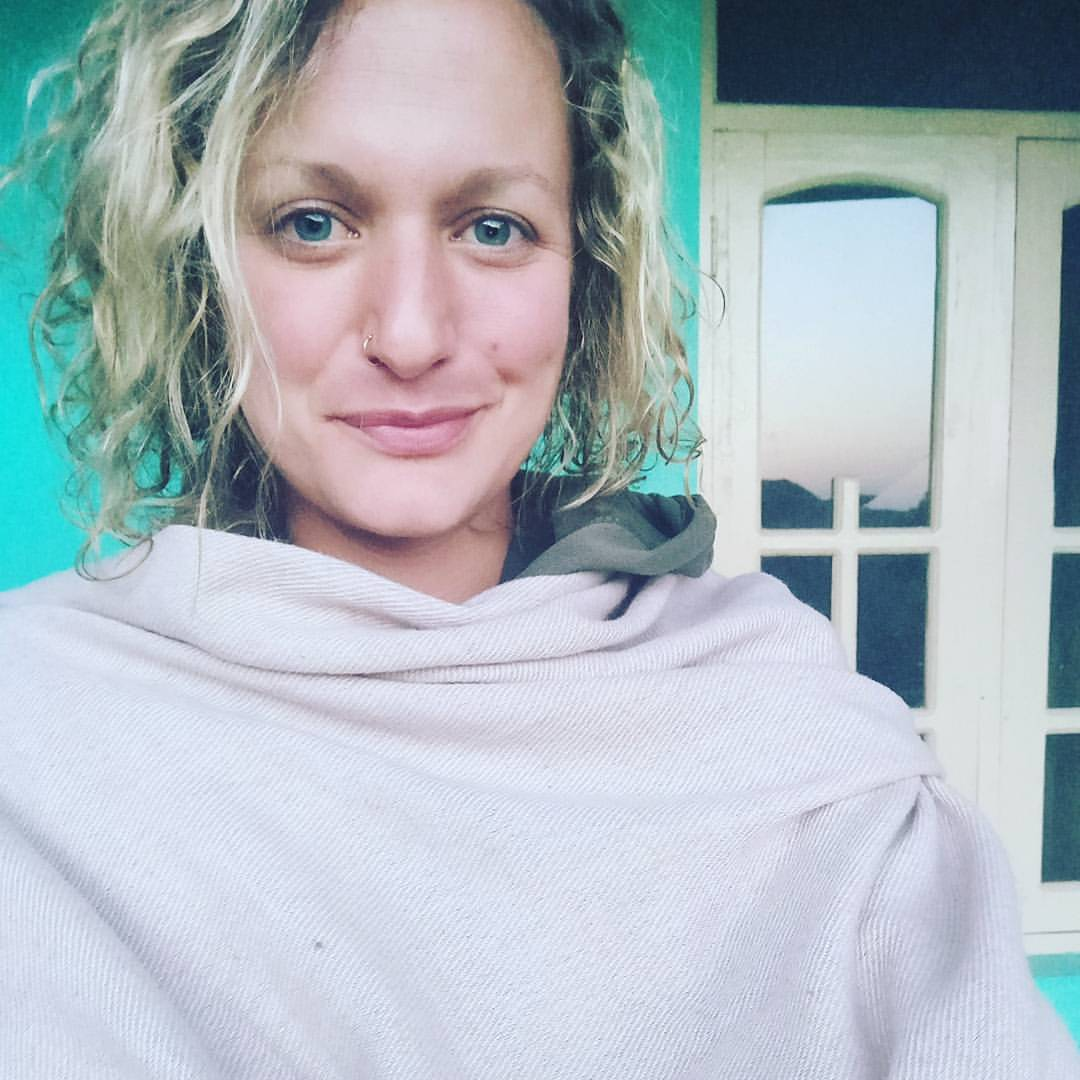 Sunrise Selfie in Dharamkot April 27 2017